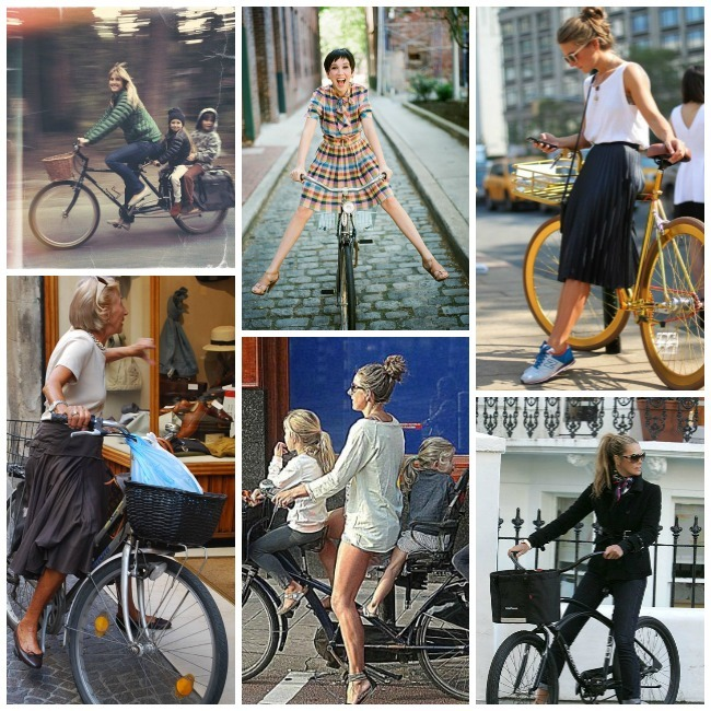 Urban Bike Collage