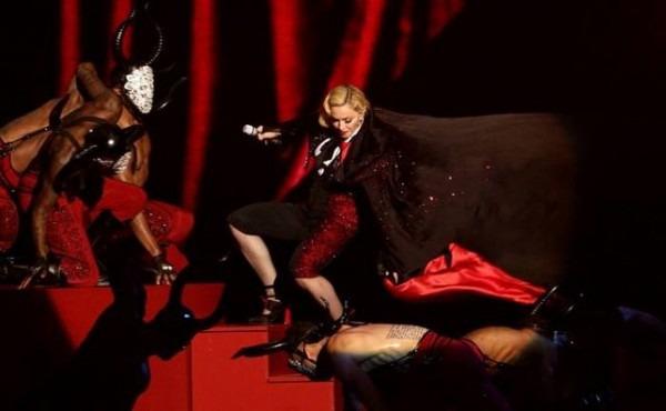 Madonna-caída