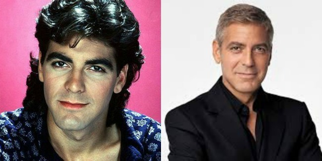 clooney collage