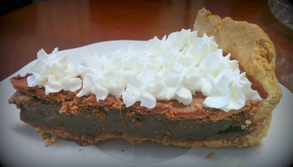 pastel de chocolate mississipi mud pie