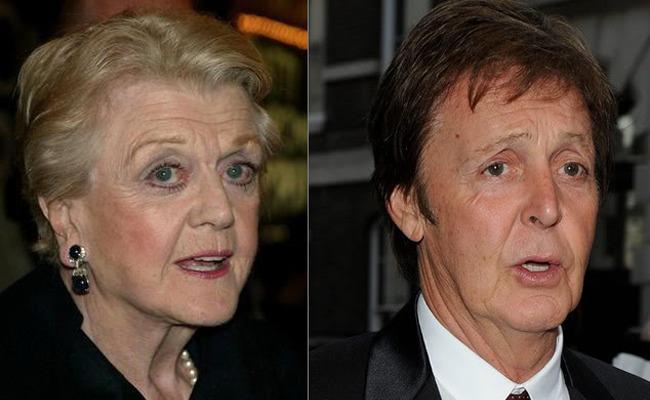 Paul McCartney vs Angela Lansbury