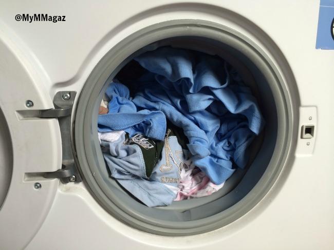 lavadora llena