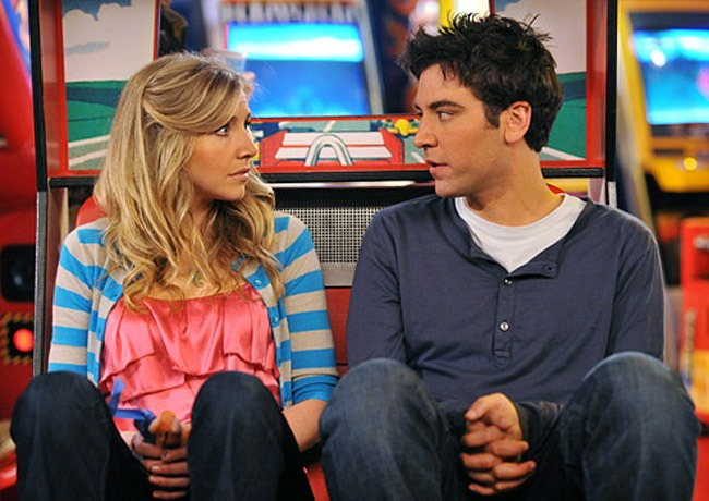 """Do I Know You?"" -  As Stella (Sarah Chalke) responds to Ted's (Josh Radnor) proposal, Barney realizes that he's in love with Robin, on the fourth season premiere of HOW I MET YOUR MOTHER, Monday, Sept. 22 (8:30-9:00 PM, ET/PT) on the CBS Television Network.   Photo: Eric McCandless/FOX ©2008 Fox Television. All Rights Reserved."