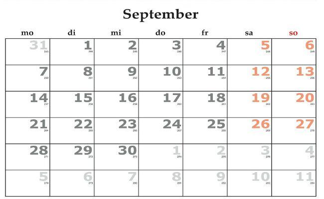septiembre mes vuelta al cole