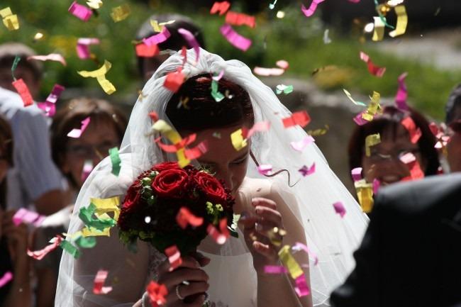 boda petalos