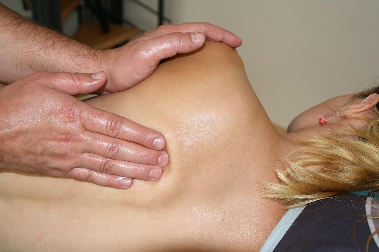 espalda masaje
