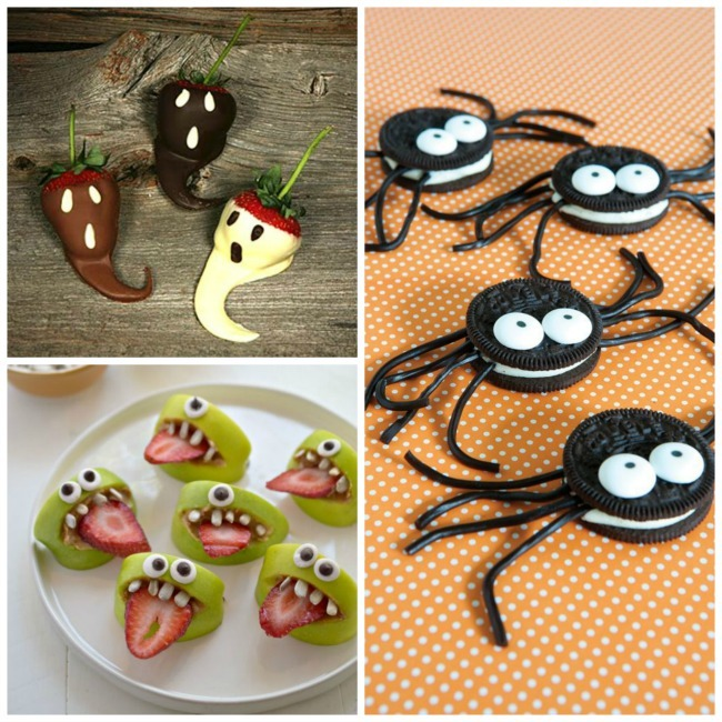 postre halloween Collage