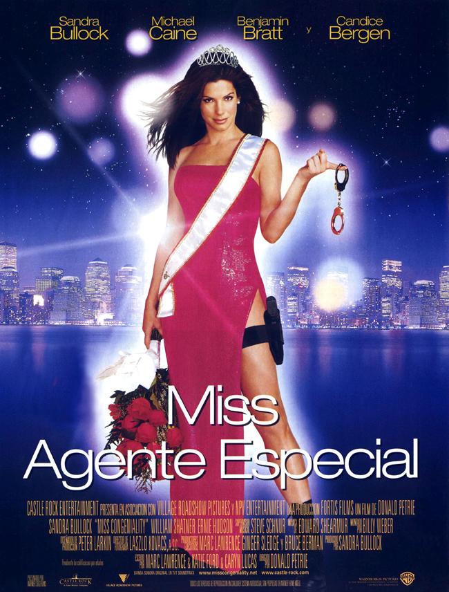 Cartel Miss Agente especial