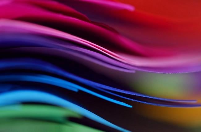 papeles colores