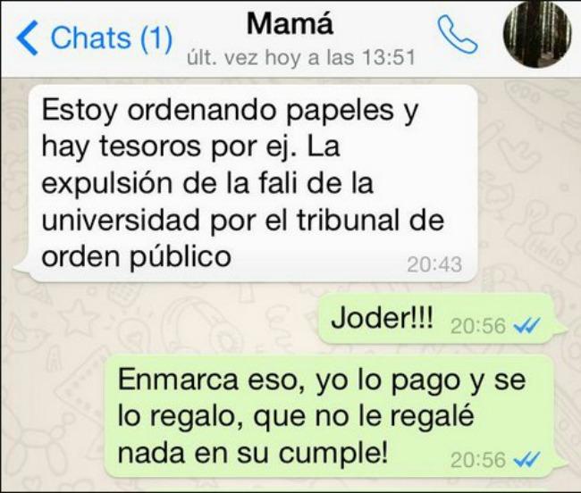 whatsapp madres