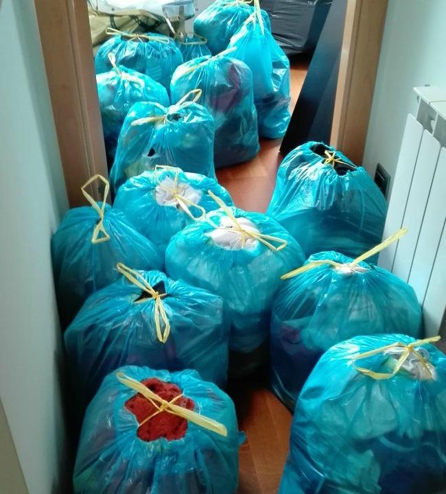 Y a pesar de todas estas bolsas...seguro que sigues teniendo que ponerte