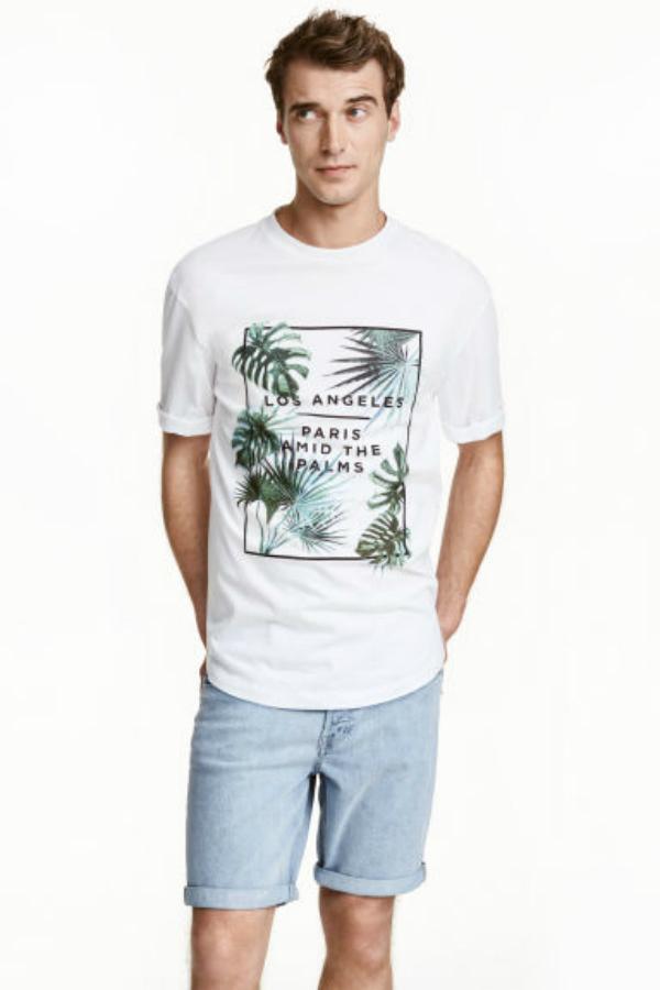 camiseta hm