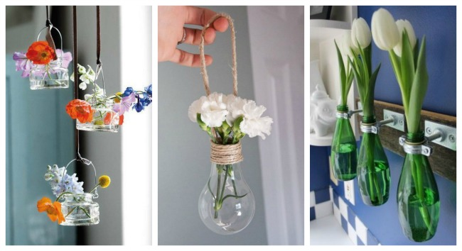 10 ideas para decorar tu casa con plantas y flores mym - Materiales reciclados para decoracion ...