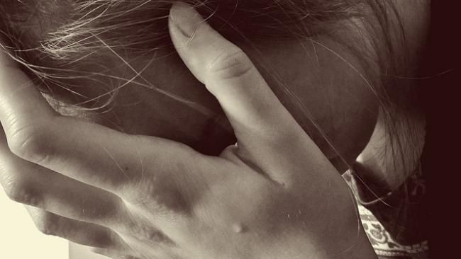 mujer frustración
