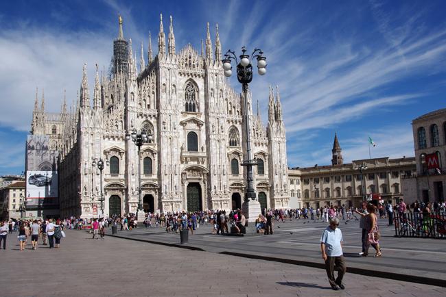 Viaje con amigas. Milán