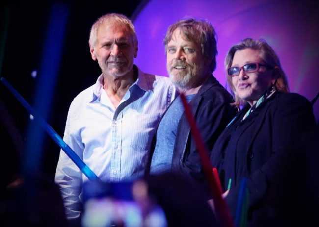 Carrie Fisher episodio VII