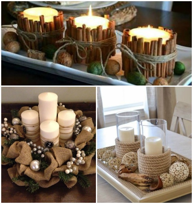 Ideas de centros de navidad para decorar tu mesa - Centros navidenos de mesa ...