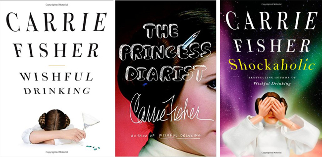 Libros Carrie Fisher