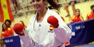 Cristina Vizcaíno González, una karateka de ORO