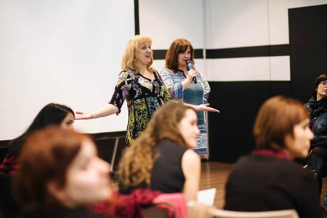 conferencia Pedagogía Blanca