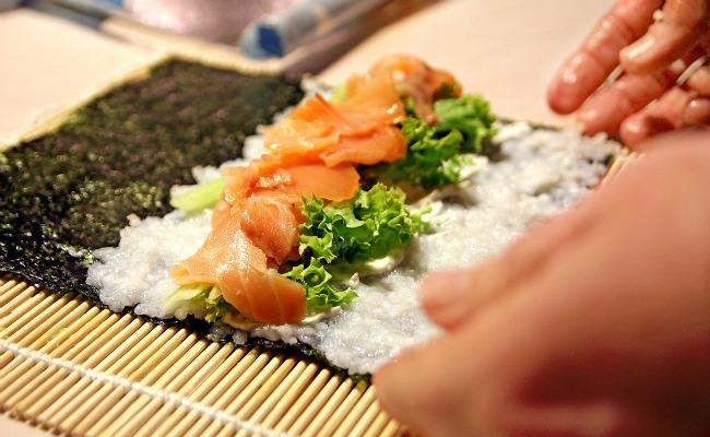 despedida de soltera sushi