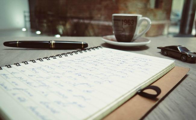 escribo, luego existo - libreta