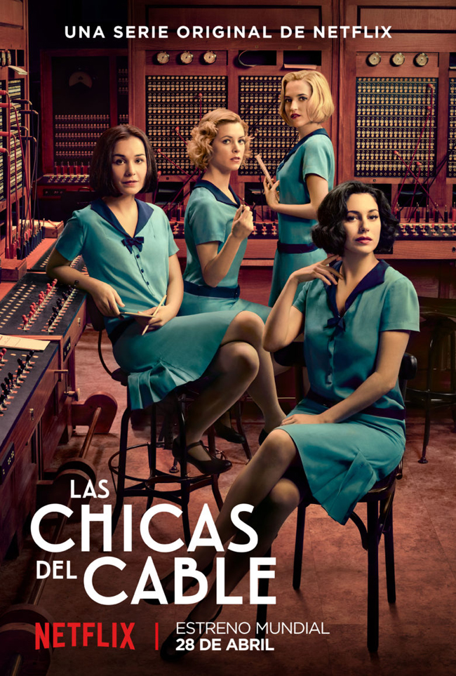 las chicas del cable. Poster