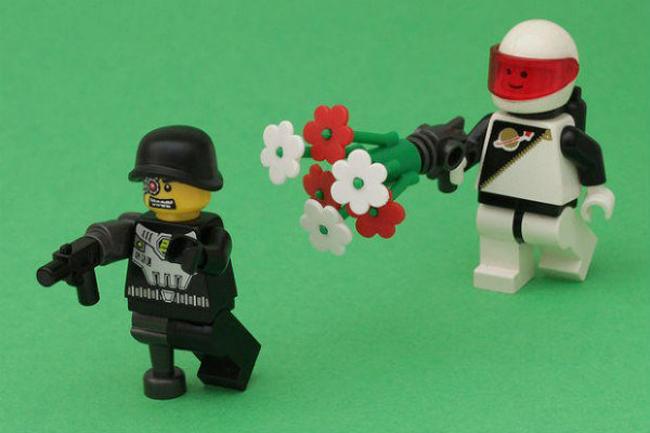 Lego juegos no violentos
