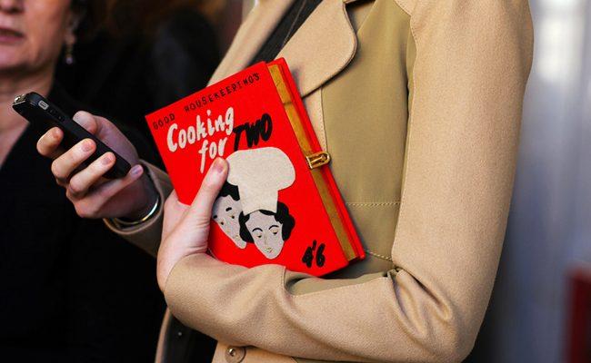 Bolsos-libro o book clutch ¿Te atreverías a llevarlos?
