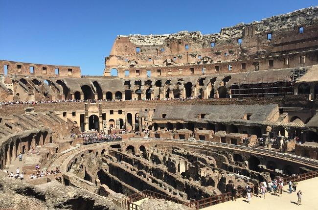 vacaciones en familia Roma