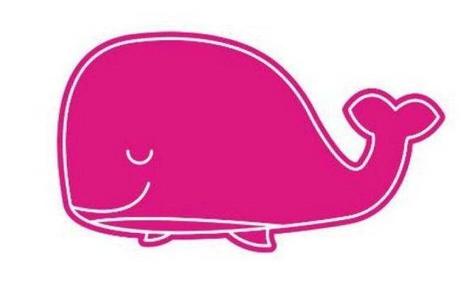 ballena rosa