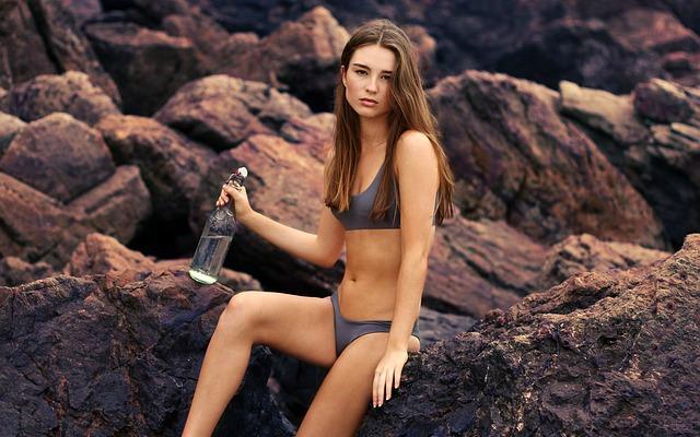evolución del bikini