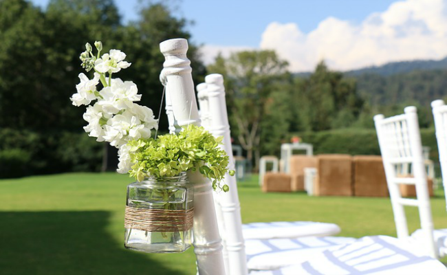 boda en verano decoración