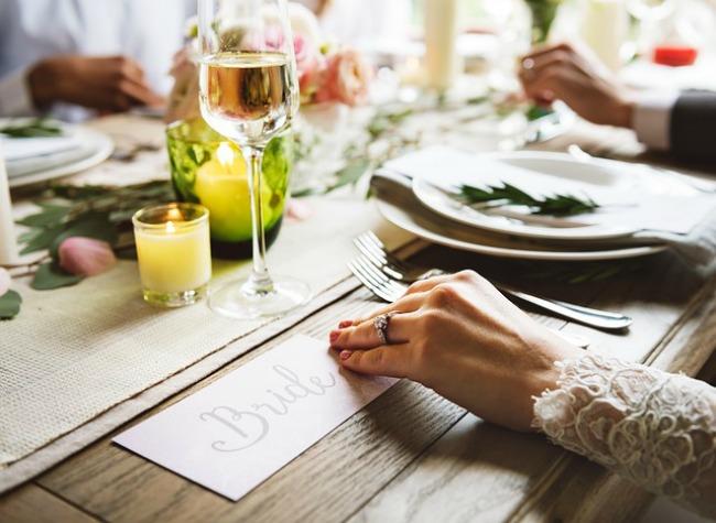 boda en verano mesa