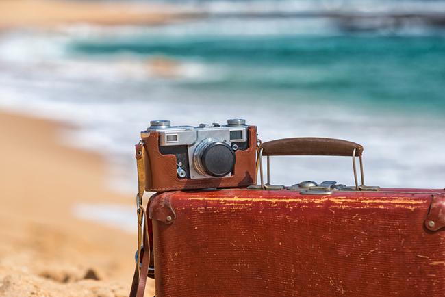 Camara de fotos vintage