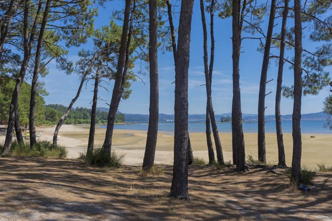 Playa de Manons, Boiro, Galicia
