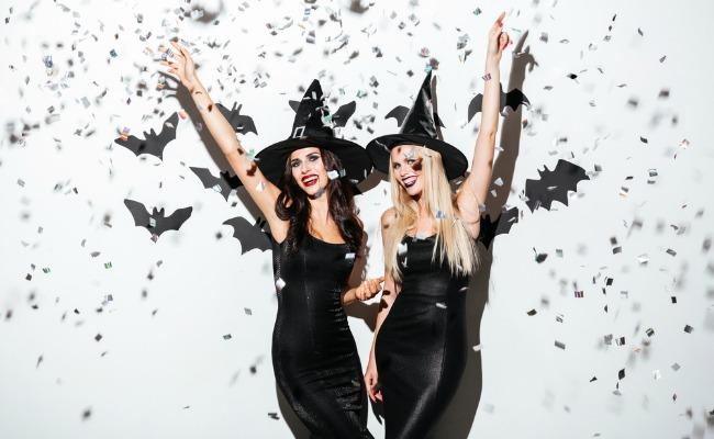 Brujas disfraz de halloween