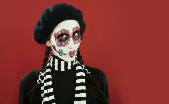Disfraz de halloween, mimo