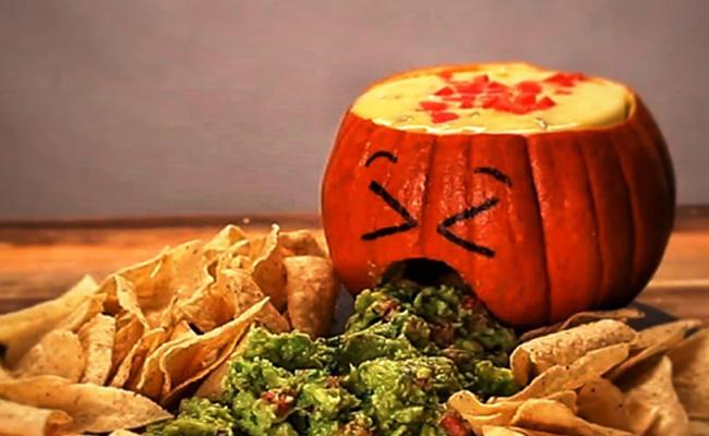 recetas para Halloween calabaza vomitona