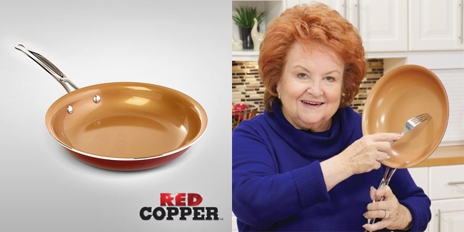 Teletienda Red copper