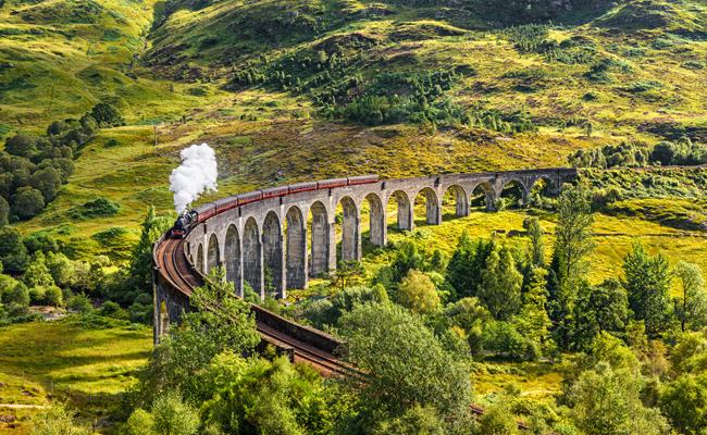 viaducto de Glenfinnan Harry Potter
