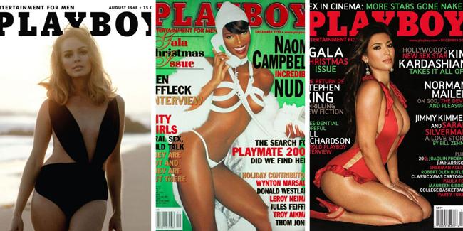 Algunas portadas iconicas de Playboy