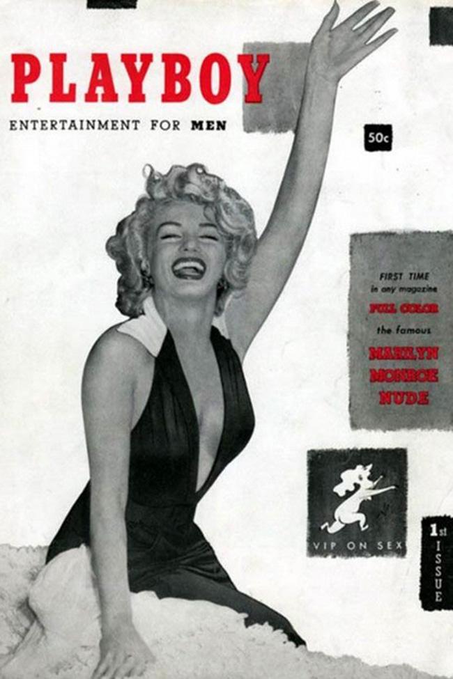 Portada Playboy Marilyn Monroe